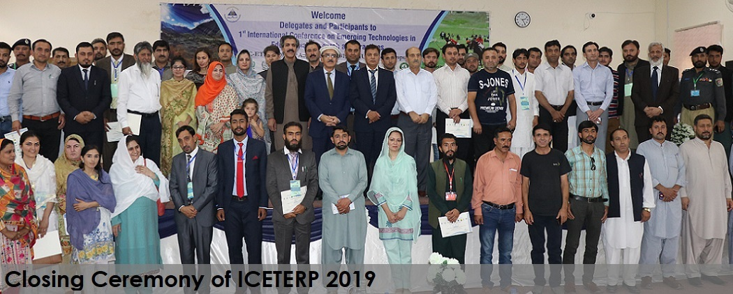 ICETERP-2019 Closing ceremony